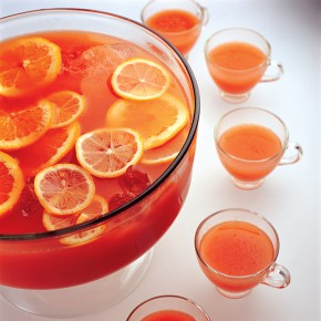 love a good punch recipe! I always wonder why we only enjoy this ...