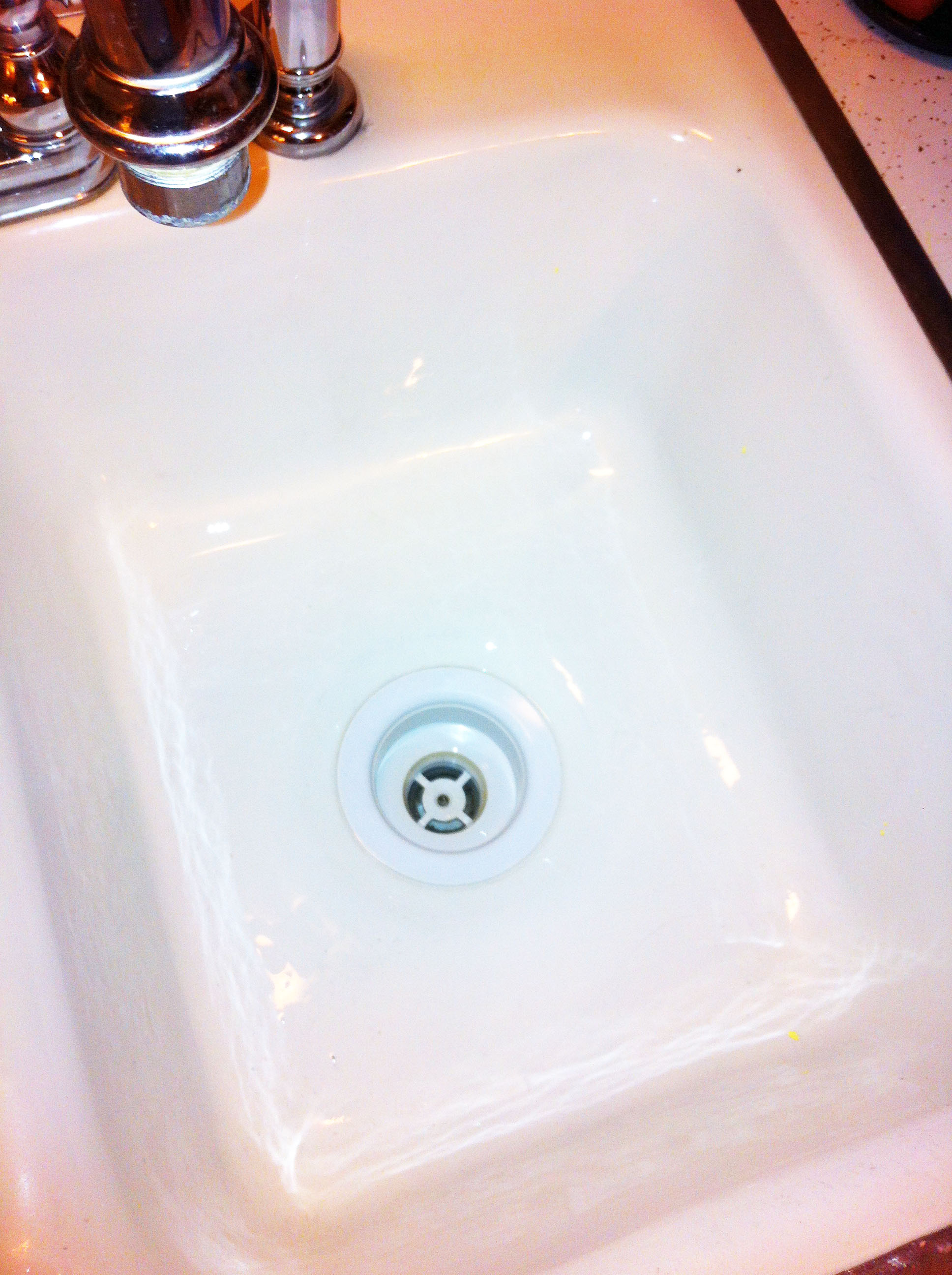 Scratches in Your Porcelain Sink? Meet Your New Best Friend! | One ...